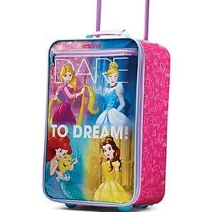 "Disney Princess 18"" Rolling Suitcase"